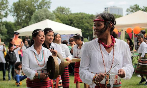 MABIKAs showcases Igorot dances for the 119th Philippine Independence Day celebration in NL