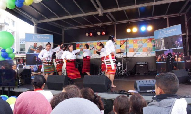 MABIKAs unity dance performed at the ARK Mundial Festival